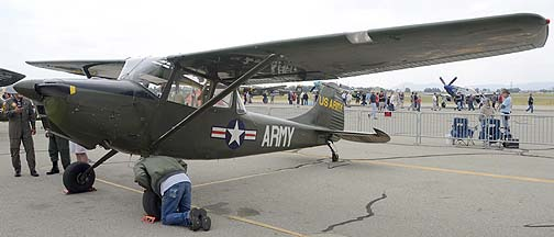 Cessna O-1A Bird Dog N5182G, May 14, 2011
